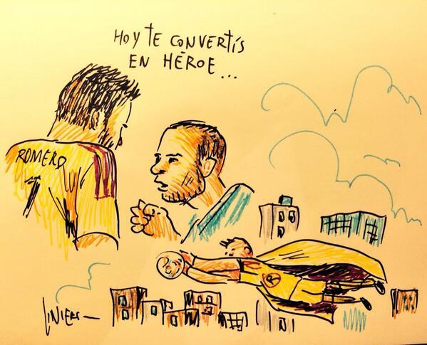"""""""Hoy te convertis en heroe"""""""