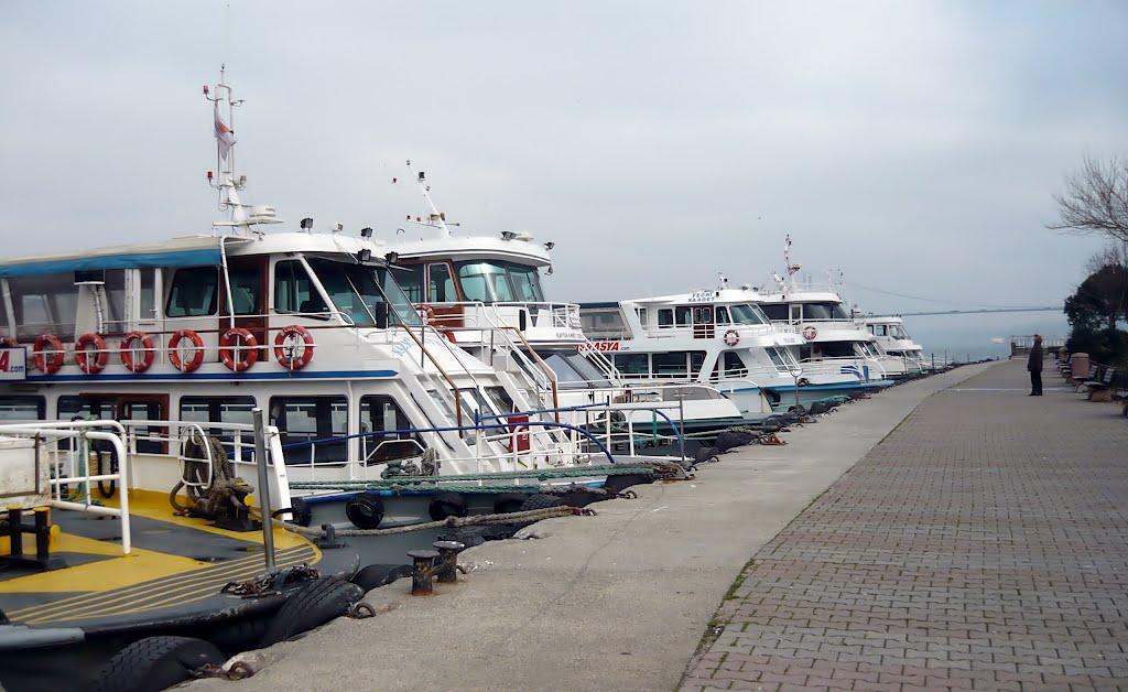 Los ferrys de Uskudar