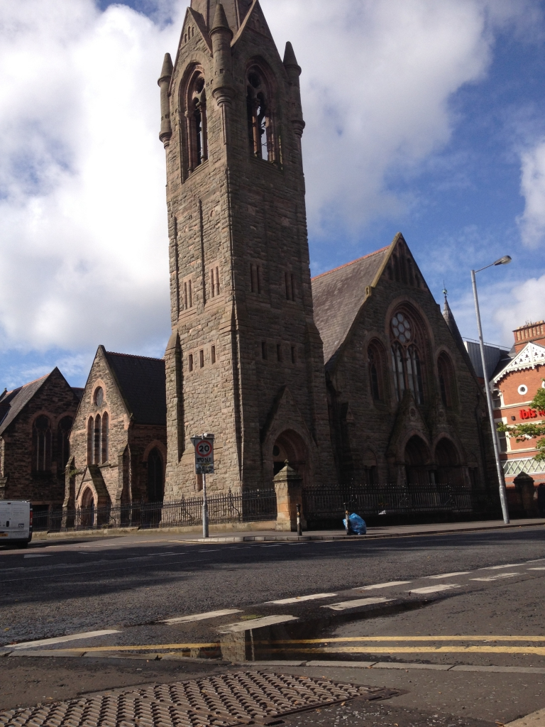 Una iglesia presbiteriana