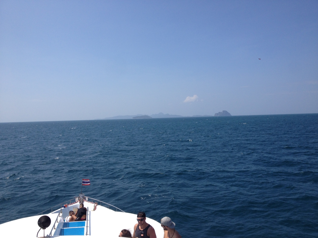 El ferry interminable hasta Koh Phi Phi